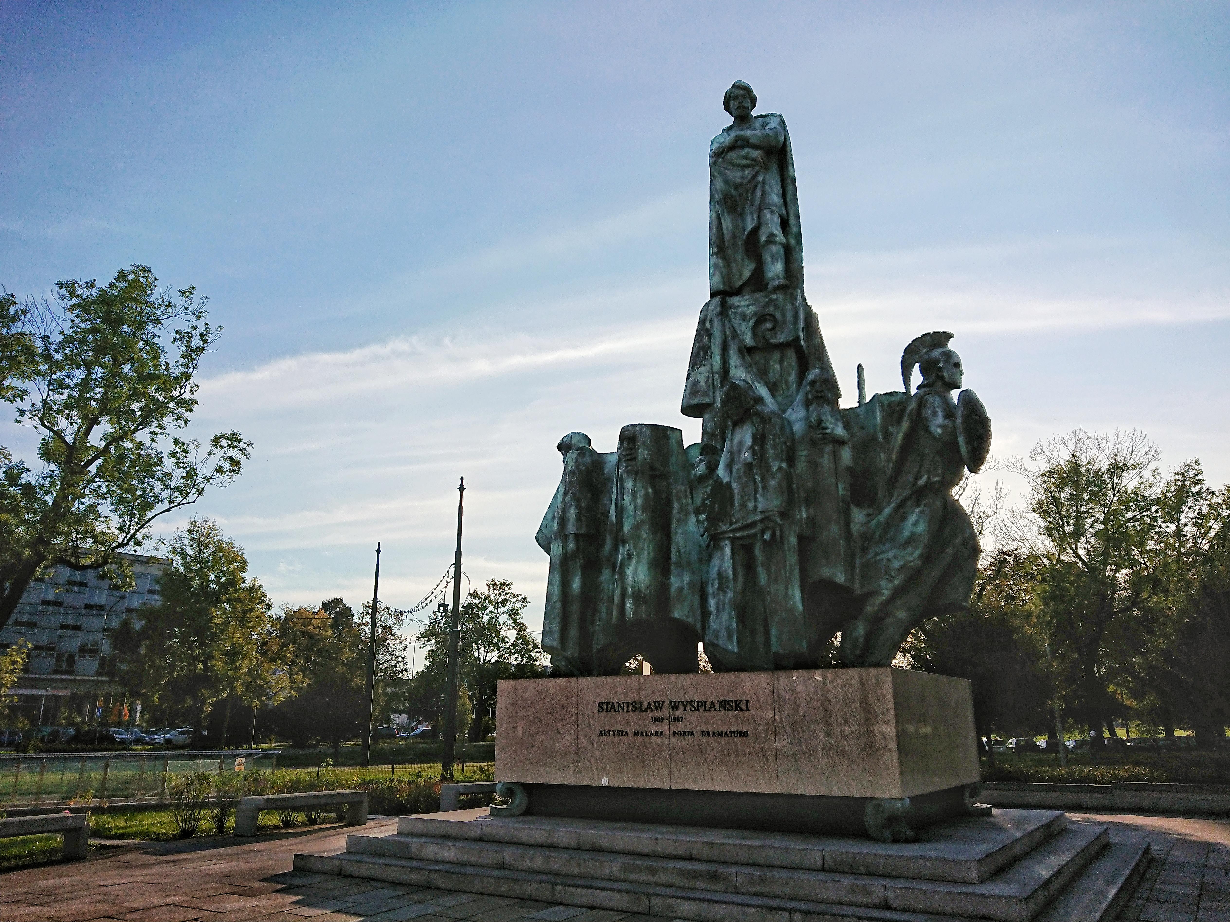 Pomnik Stanisława Wyspiańskiego, źródło: archiwum autorki