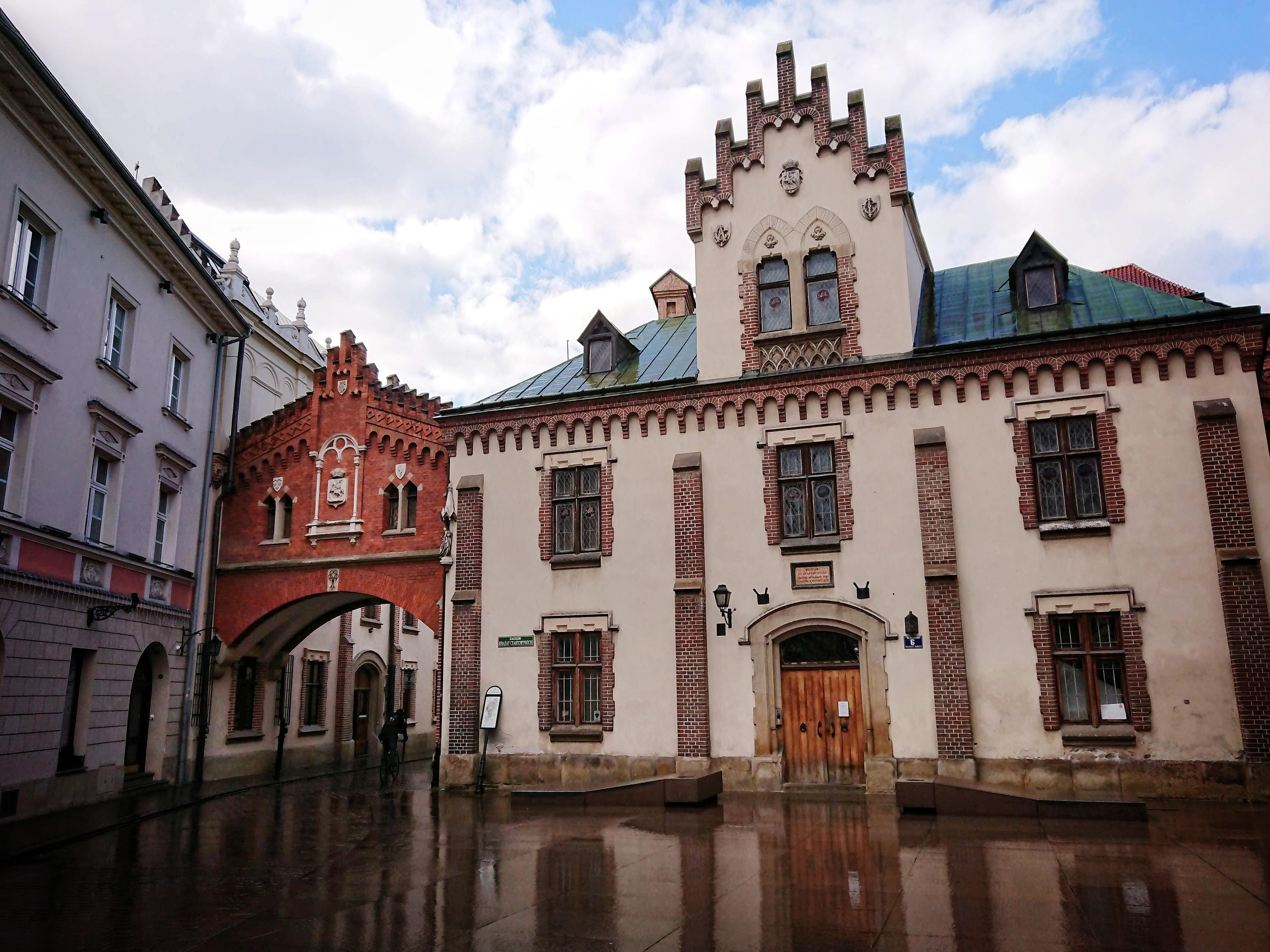 Klasztorek z kompleksie Muzeum Czartoryskich, źródło: archiwum autorki
