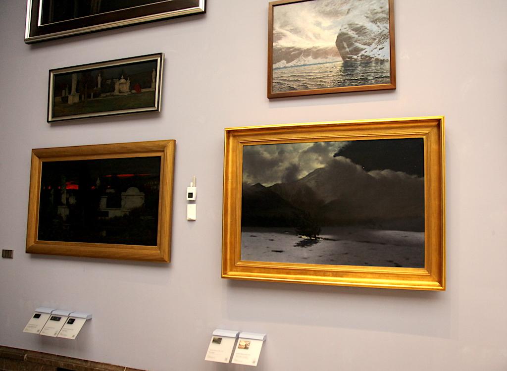 """""""Wiatr halny"""" eksponowany jest w Sukiennicach - oddziale Muzeum Narodowego w Krakowie, źródło: archiwum autora"""
