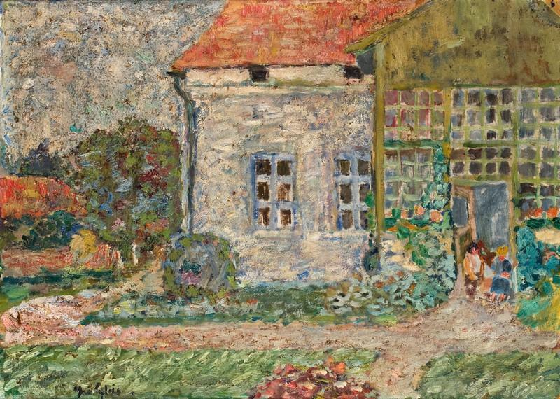 """Jan Cybis (1897-1972) """"Dom w Wiśniowej"""", ok. 1935 roku, źródło: Muzeum Śląska Opolskiego w Opolu"""