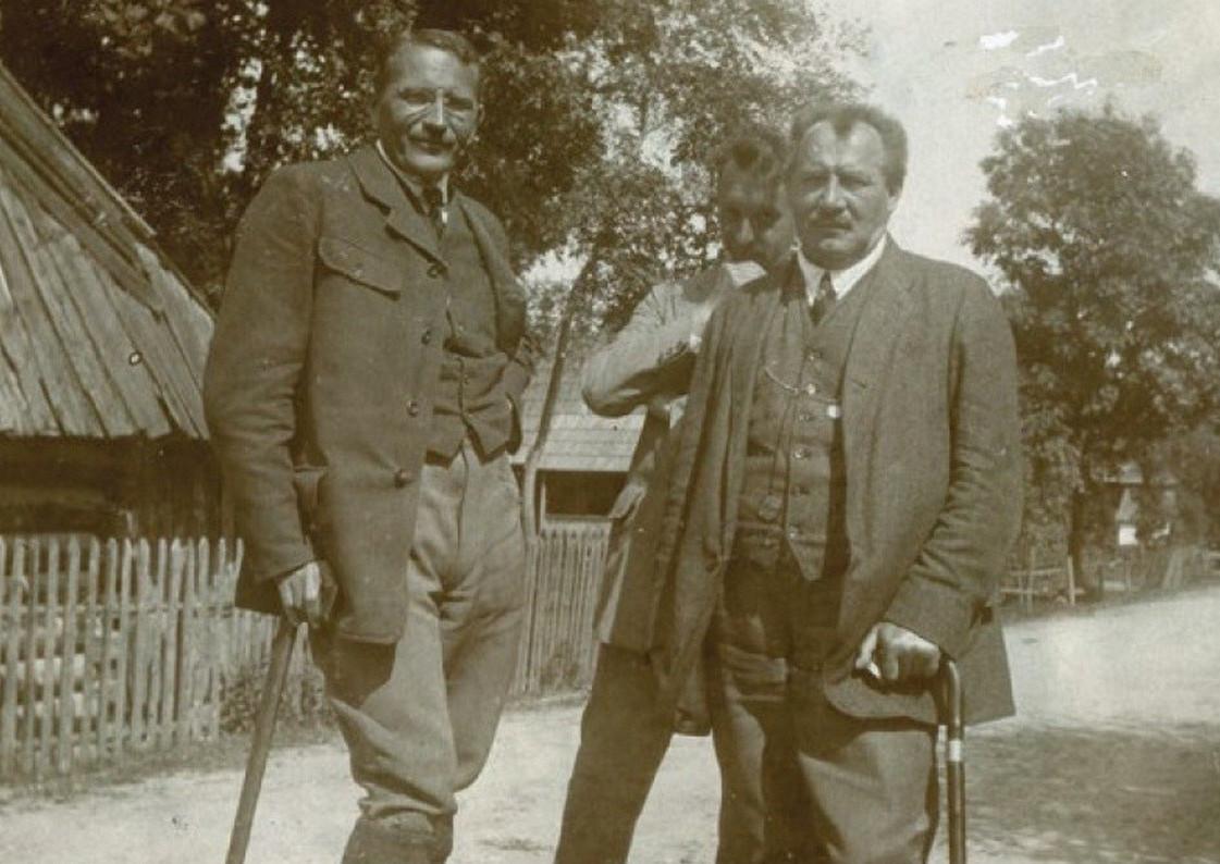 Harenda. Władysław Jarocki i Jan Kasprowicz, źródło: polska-org.p