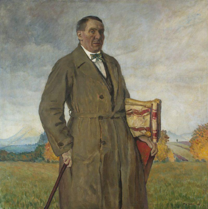 """Władysław Jarocki (1879-1965) """"Portret Stanisława Kamockiego"""", 1920 rok, źródło: Muzeum Narodowe w Krakowie"""