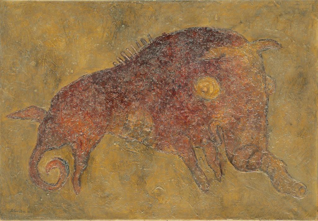 """Jan Lebenstein (1930-1999) """"Bez tytułu"""", źródło: Art Torg S.r.o"""