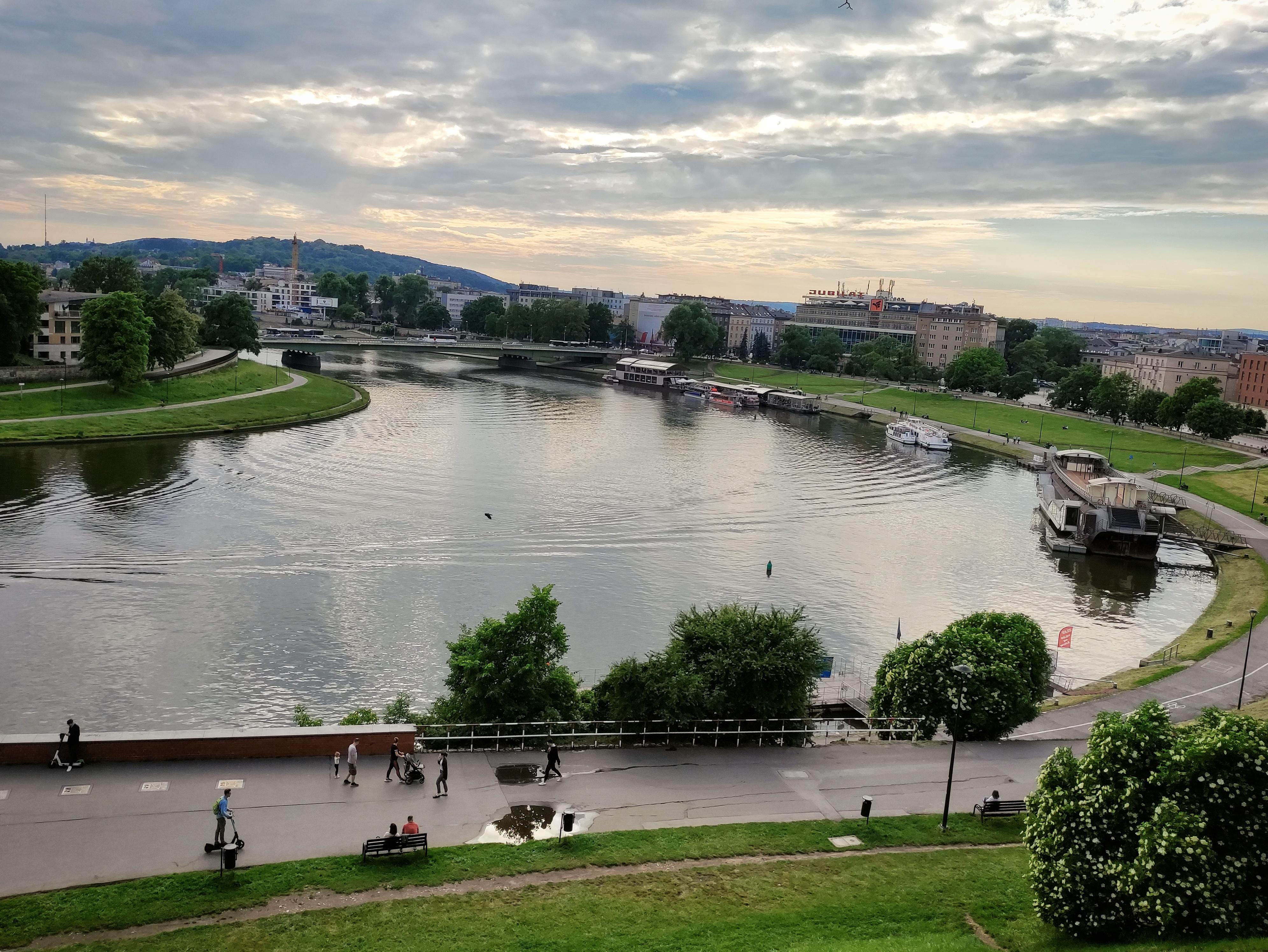 Widok z Wawelu, źródło: archiwum autorki