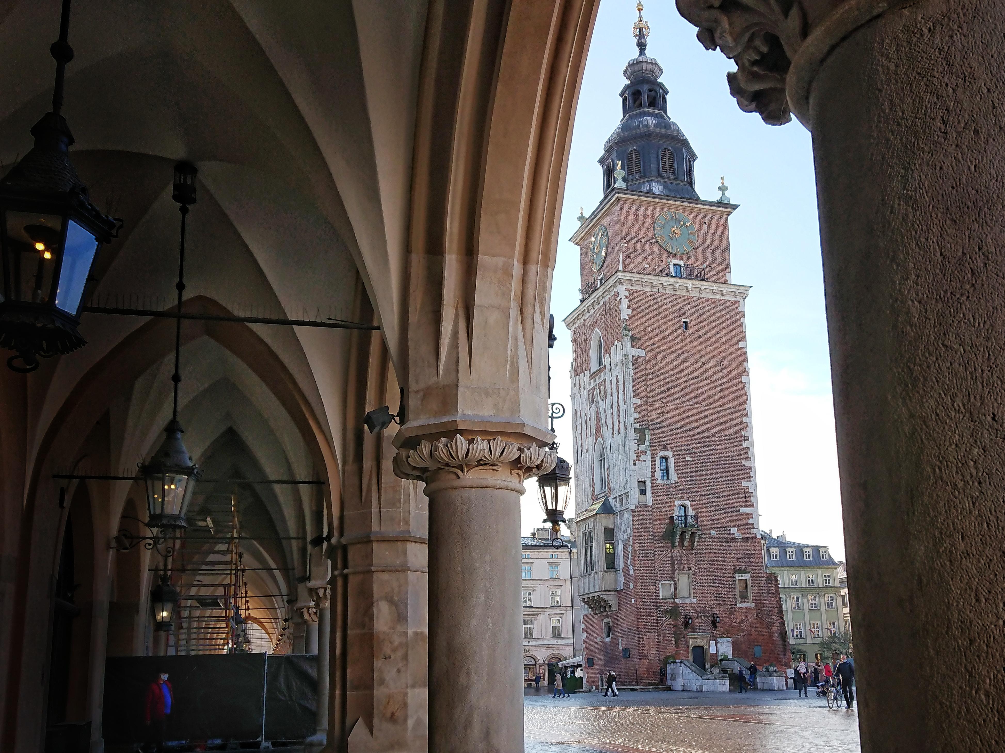Wieża Ratuszowa na Rynku w Krakowie, źródło: archiwum autorki