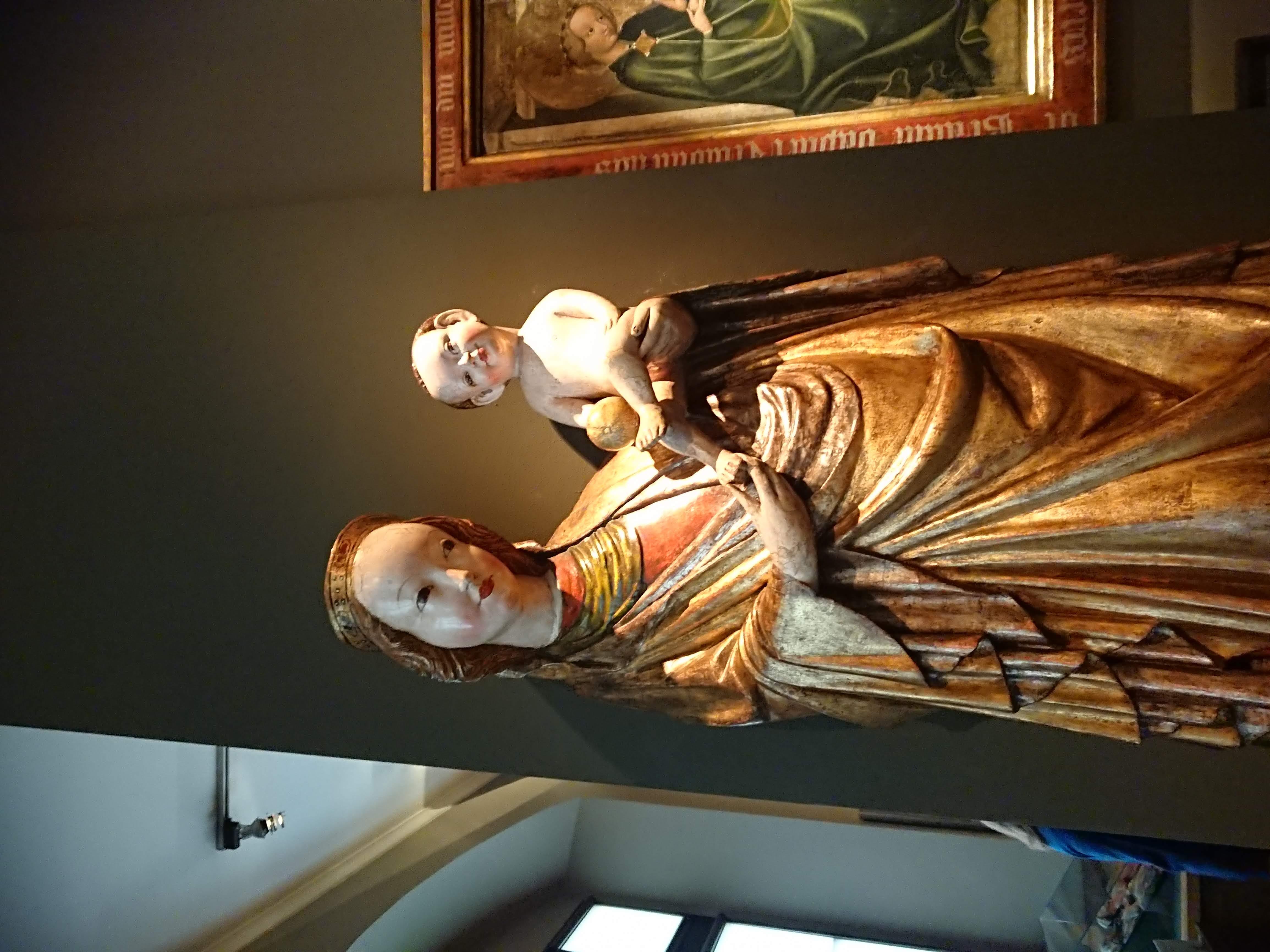 Madonna z Krużlowej w Pałacu Biskupa Erazma Ciołka, źródło: archiwum autorki