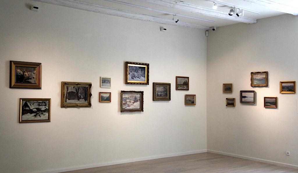 Fragment ekspozycji kolekcji Wandy i Leonarda Pietraszaków, źródło: archiwum autora