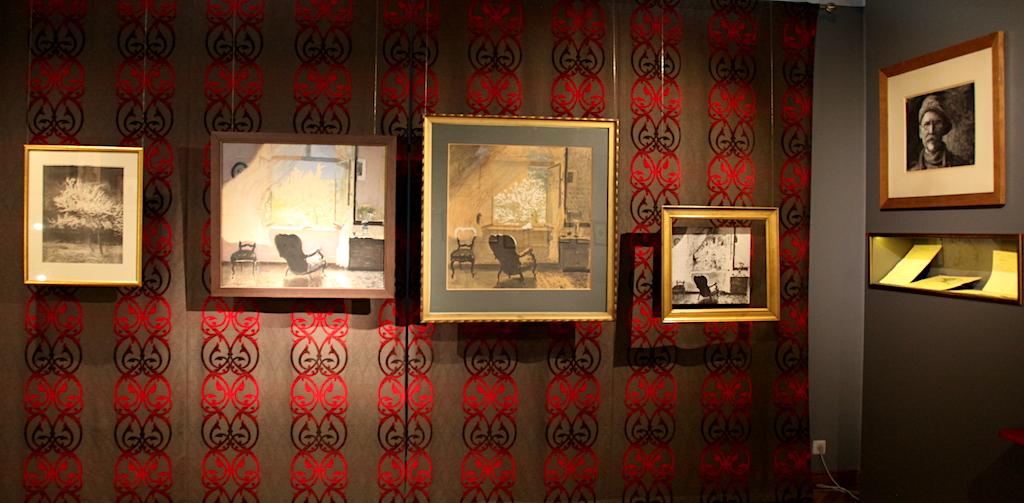 Fragment wystawy prac Leona Wyczółkowskiego w Muzeum Okręgowym w Bydgoszczy, źródło: archiwum autora