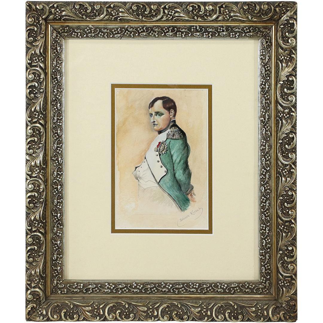 "Juliusz Kossak (1824-1899) ""Napoleon Bonaparte"", źródło: Donny Malone Auctions"