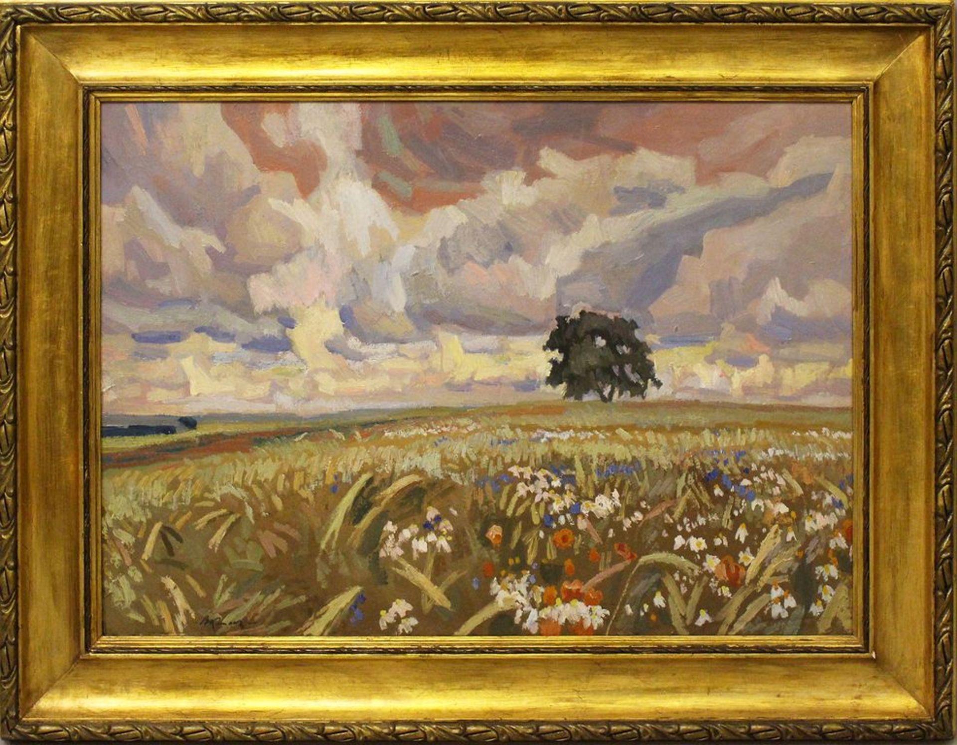 """Stanisław Kamocki (1875-1944) """"Polna grusza"""", źródło: Auktionshaus Dannenberg"""
