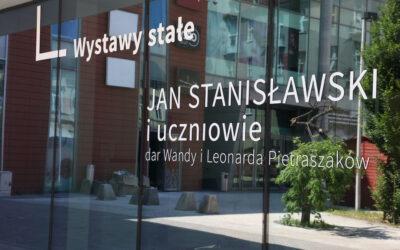 Jan Stanisławski i uczniowie z kolekcji Wandy i Leonarda Pietraszaków