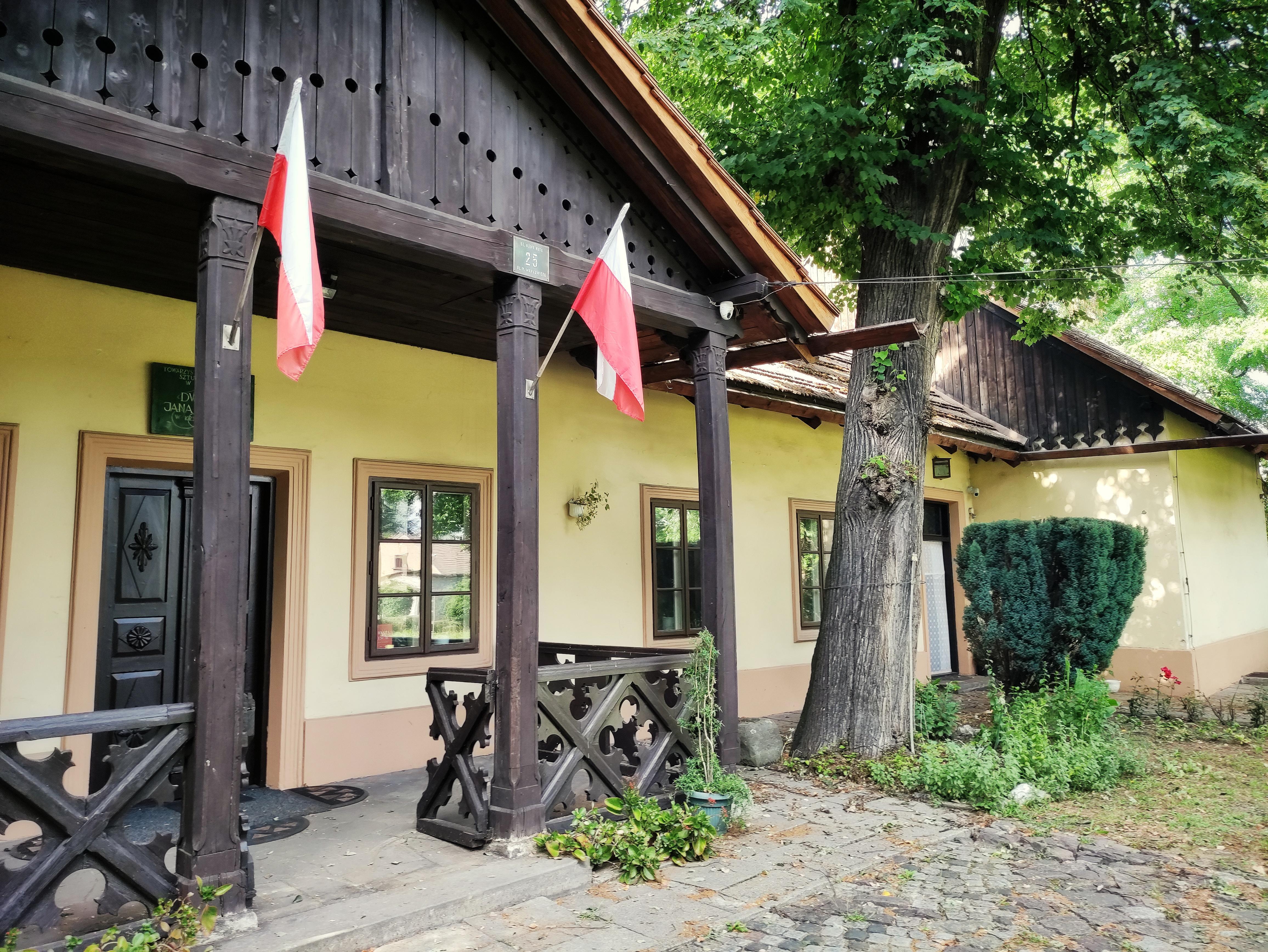 Ganek dworku w Krzesławicach, źródło: archiwum autorki