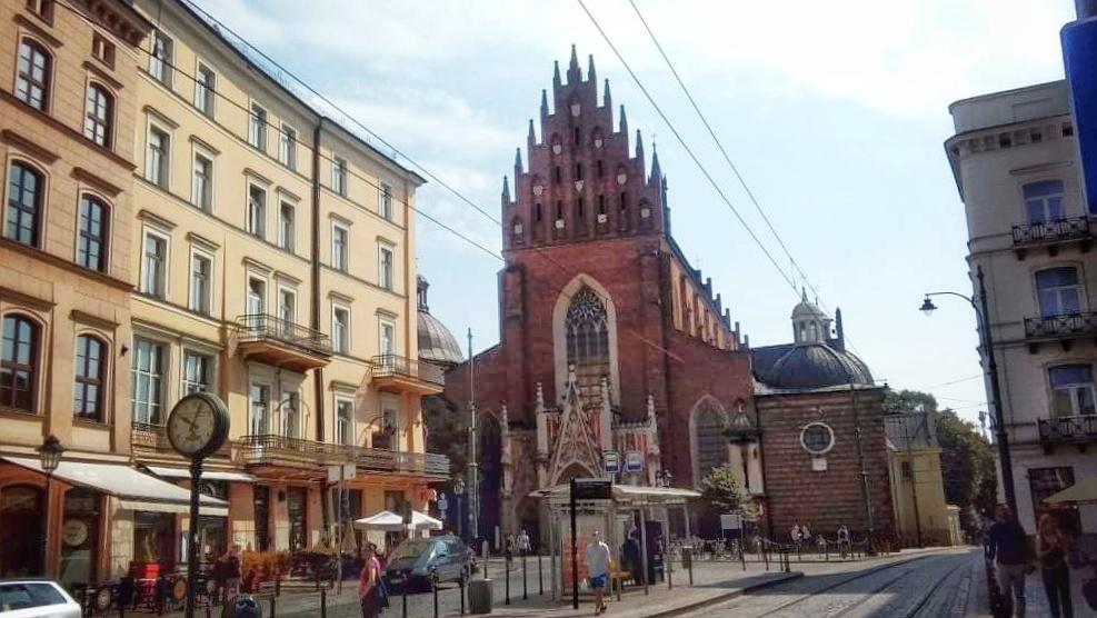 Dzisiejszy widok na kościół dominikanów, fot. Maciej Poradziński