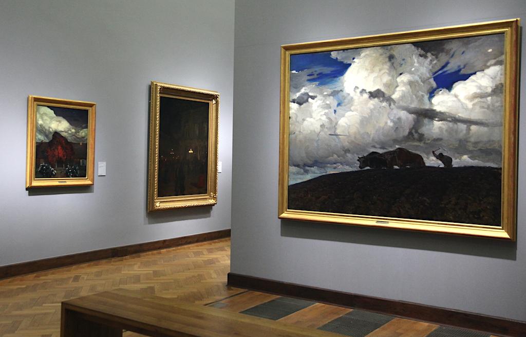 Ekspozycja prac Ferdynanda Ruszczyca w Muzeum Narodowym w Warszawie, źródło: archiwum autora