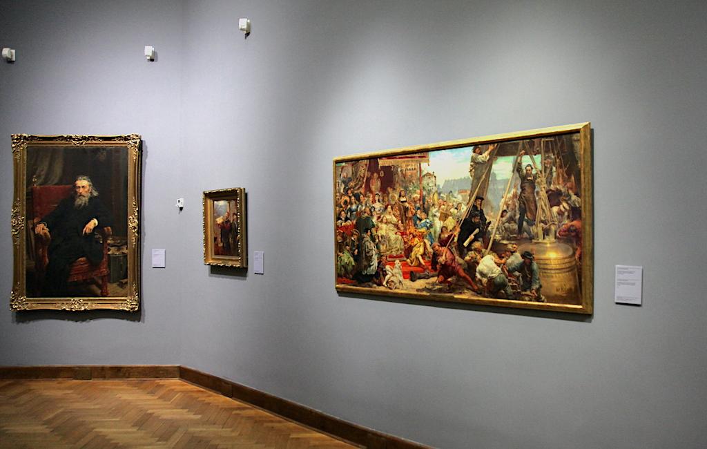 Obrazy Jana Matejki w Muzeum Narodowym w Warszawie: źródło: archiwum autora