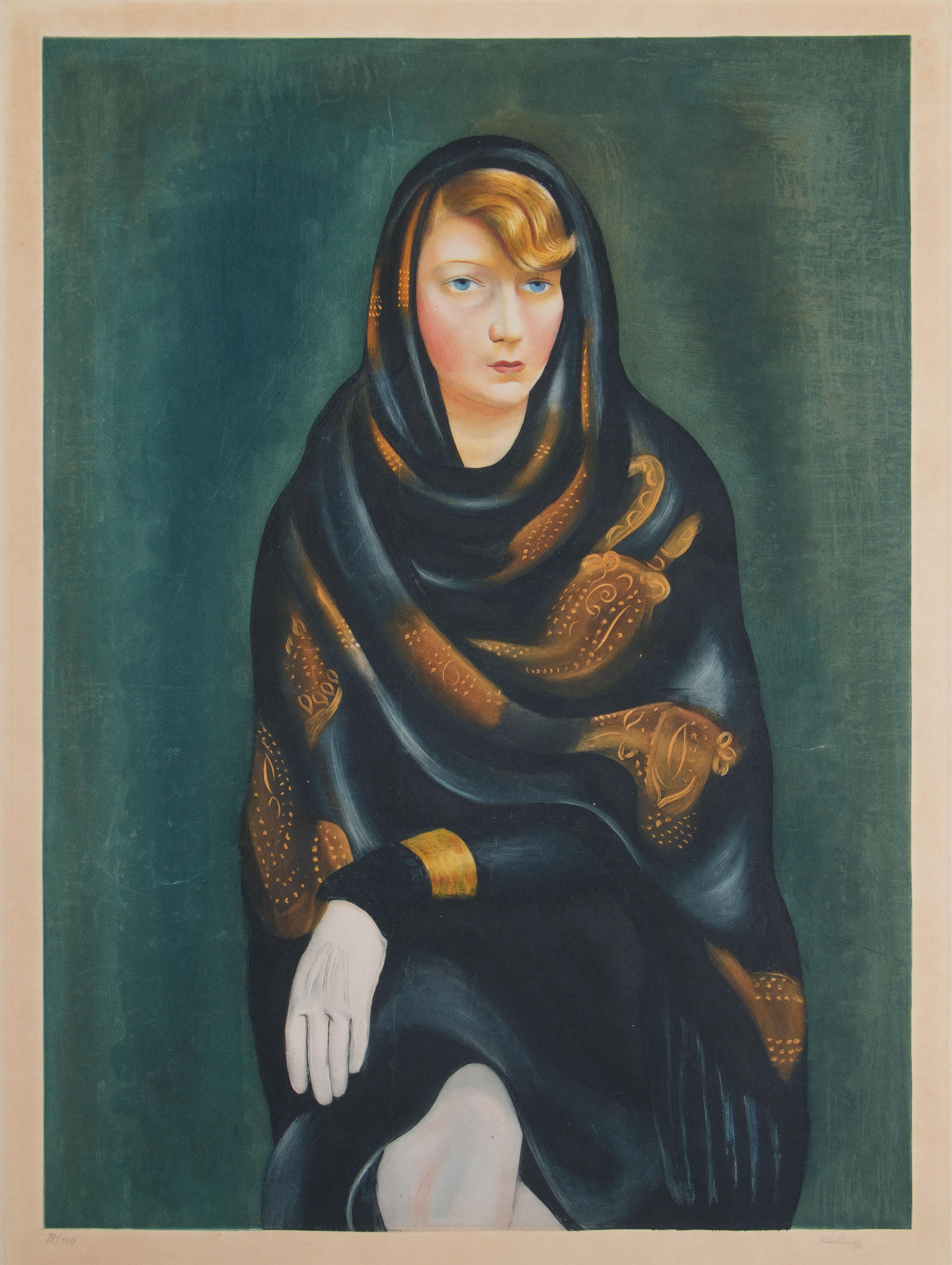 """Mojżesz Kisling (1891-1953) """"Sonia"""", źródło: Shapiro Auctions"""