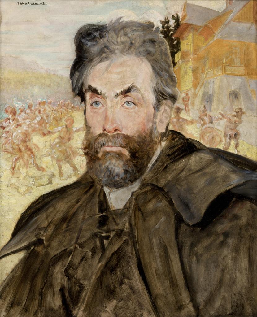 """Jacek Malczewski (1854-1929) """"Portret Stanisława Witkiewicza"""", 1902 rok, źródło: Muzeum Narodowe w Krakowie"""
