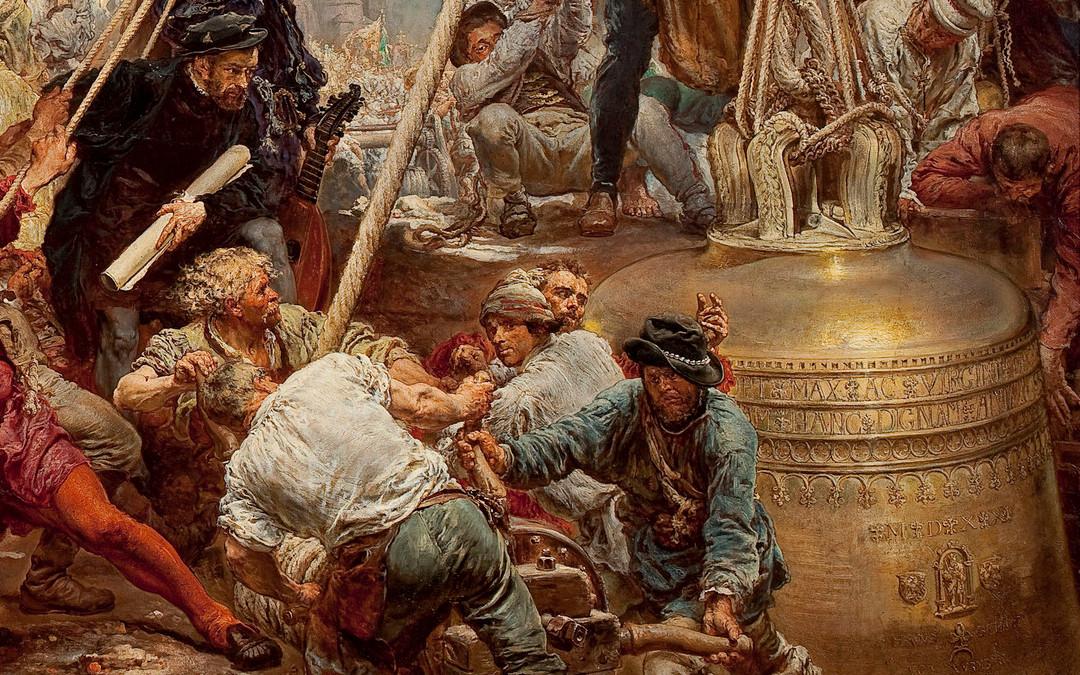 500 lat temu zawieszono Dzwon Zygmunta. Artystyczna wizja Jana Matejki