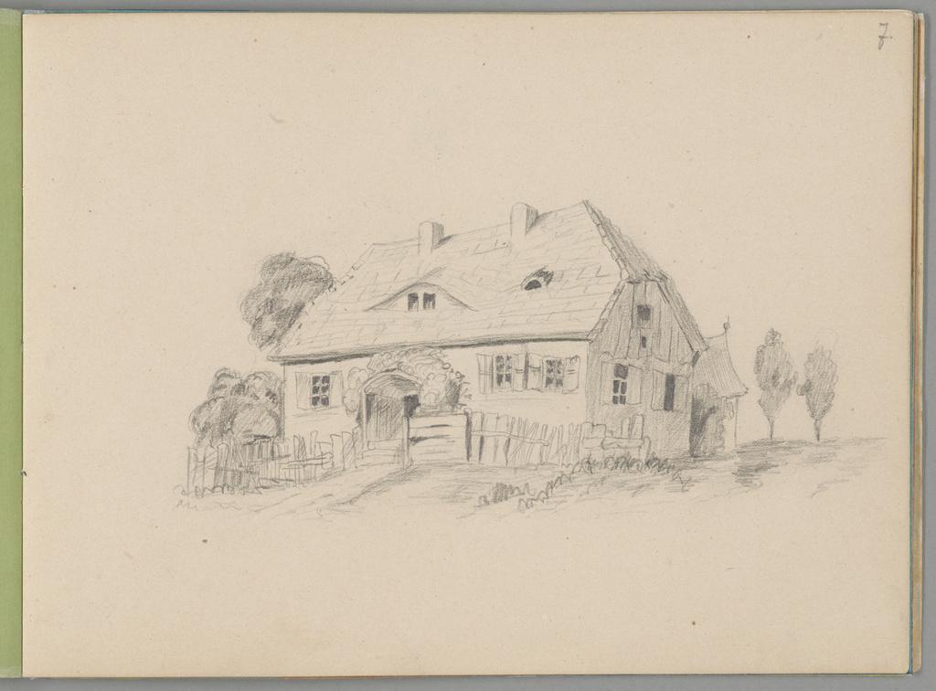 Karta szkicownika Stanisława Wyspiańskiego z lat 1880-1881, źródło: Muzeum Narodowe w Krakowie
