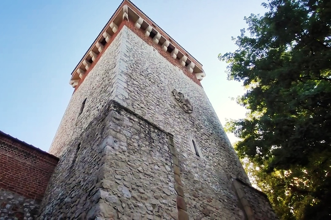 Orzeł na Bramie Floriańskiej projektu Jana Matejki, źródło: archiwum autorki