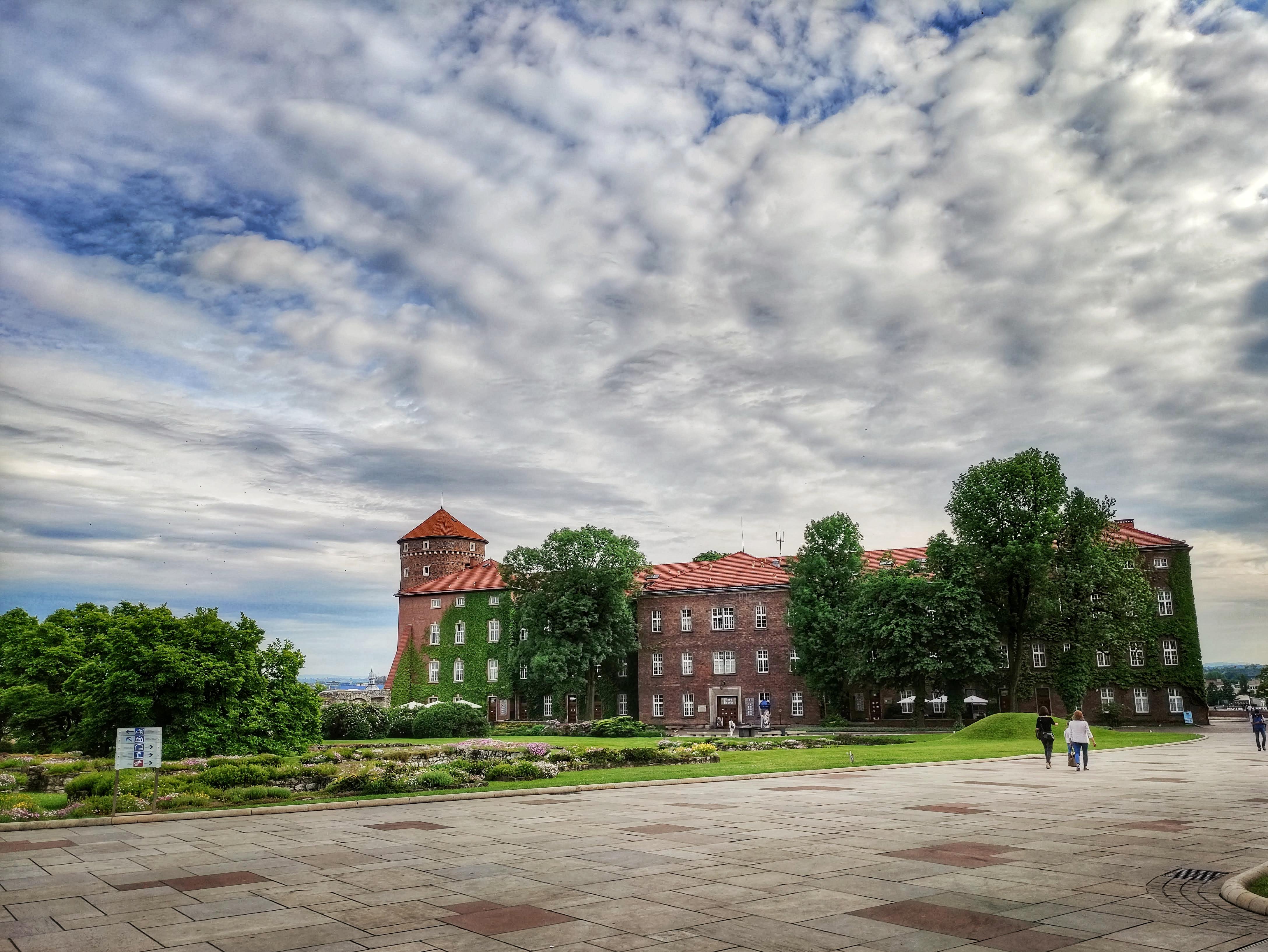 Dzisiejszy widok austriackich zabudowań Wzgórza Wawelskiego, źródło: archiwum autorki
