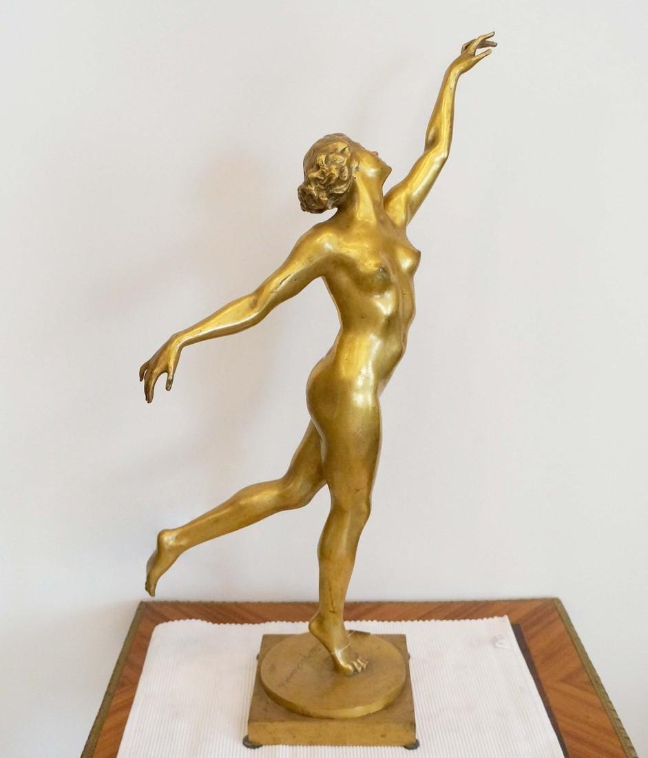 """Stanisław Jackowski (1887-1951) """"Tancerka"""", źródło: Jasper52"""