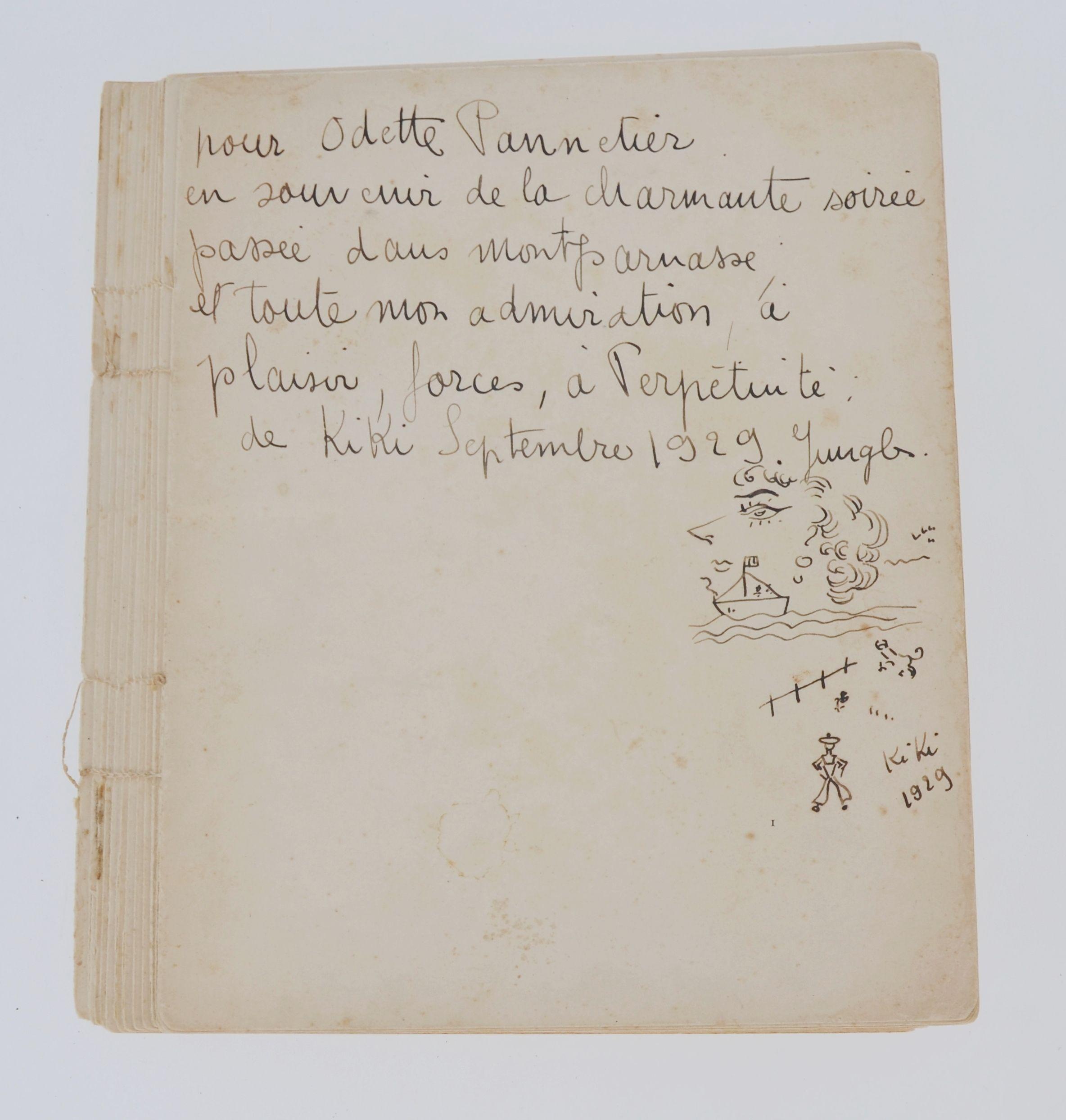 """Kiki de Montparnasse (1901-1953) """"Les souvenirs de Kiki"""", źródło: Million & Associes"""
