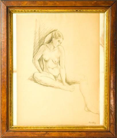 """Mojżesz Kisling (1891-1953) """"Akt"""", źródło: Greenwich Auction"""