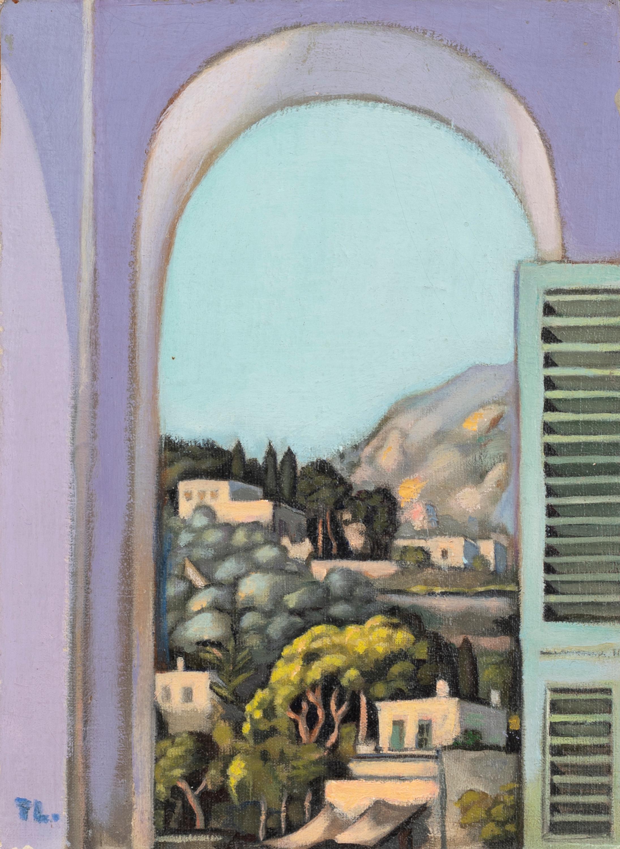"Tamara Łempicka (1898-1980) ""Capri - widok z okna"", źródło: Lefebre Subastas"