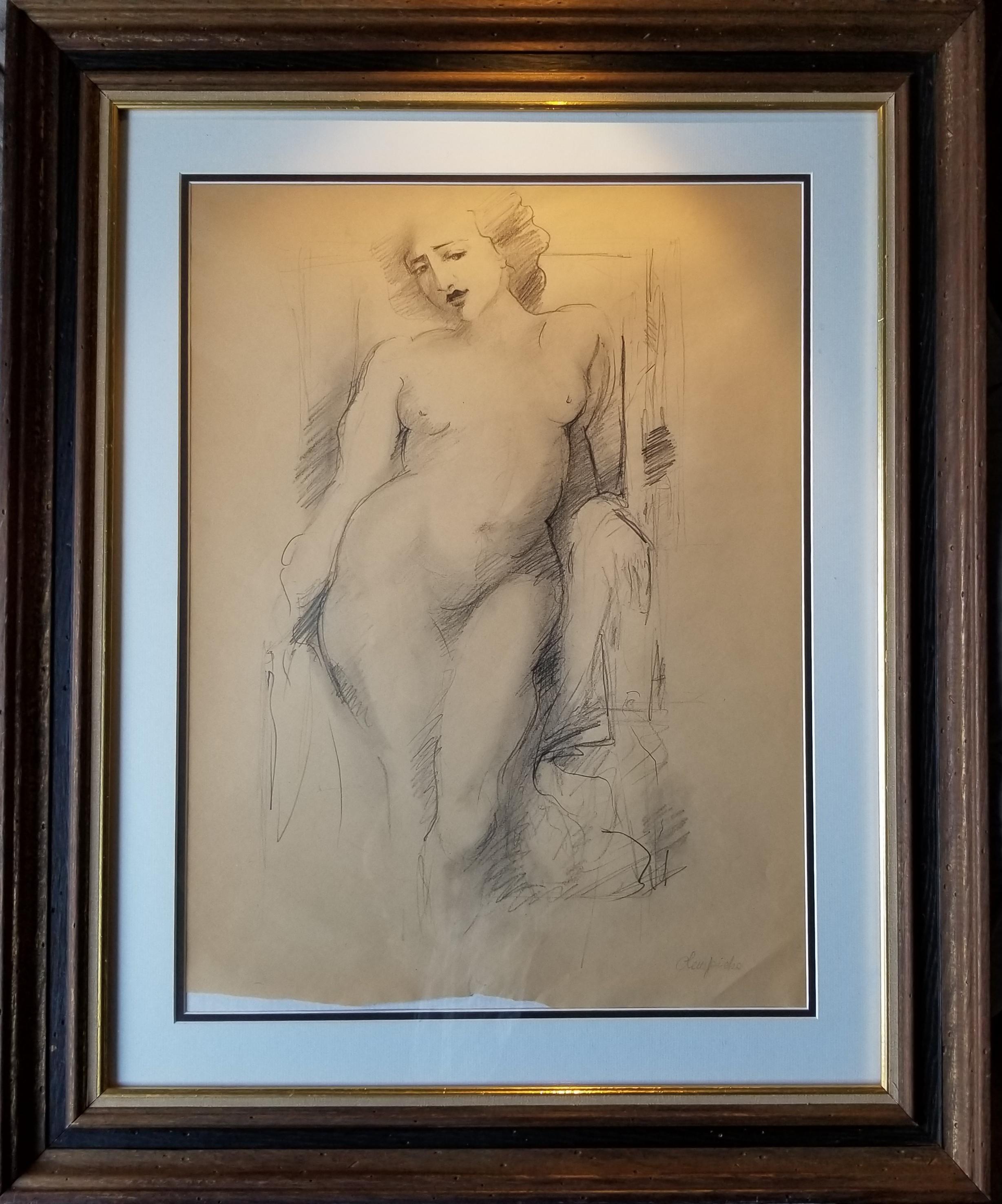 "Tamara Łempicka (1898-1980) ""Akt"", źródło: Livingston Auction"