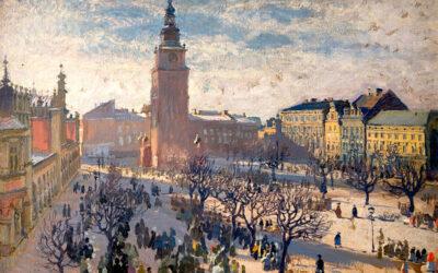 9 obrazów z widokiem Krakowa na obrazach młodopolskich malarzy