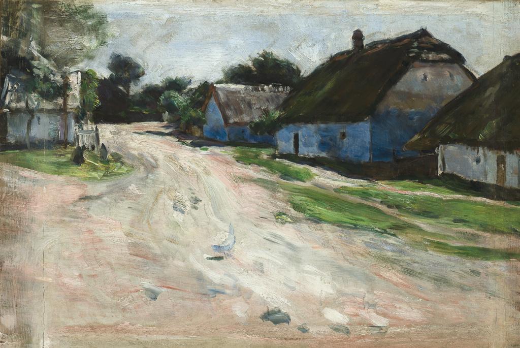 """Aleksander Gierymski (1850-1901) """"Droga w Bronowicach"""", lata 1894-1895, źródło: Muzeum Narodowe w Krakowie"""