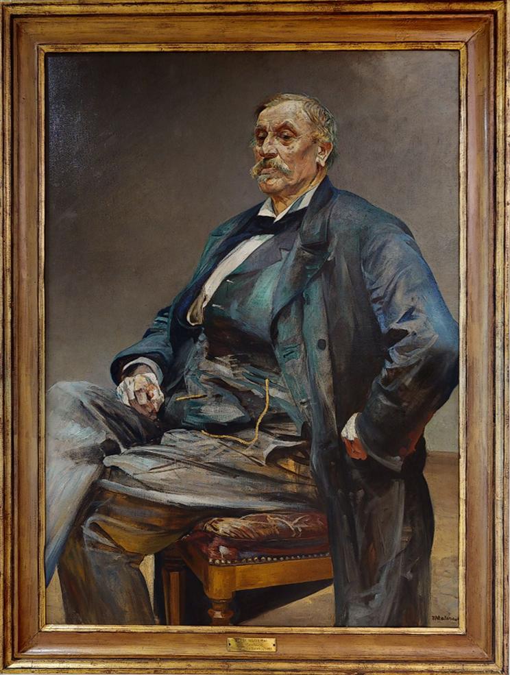 """Jacek Malczewski (1854-1929) """"Fortunat Gralewski"""", 1889 rok, źródło: Muzeum Narodowe w Poznaniu"""