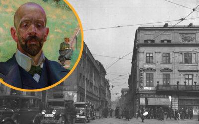 Krakowskim szlakiem Jacka Malczewskiego – ulica Szczepańska 1