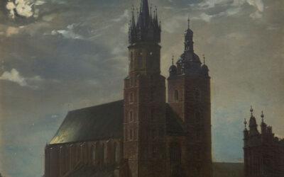"""Krakowskim szlakiem: """"Kościół Mariacki w Krakowie"""" Aleksandra Gryglewskiego"""