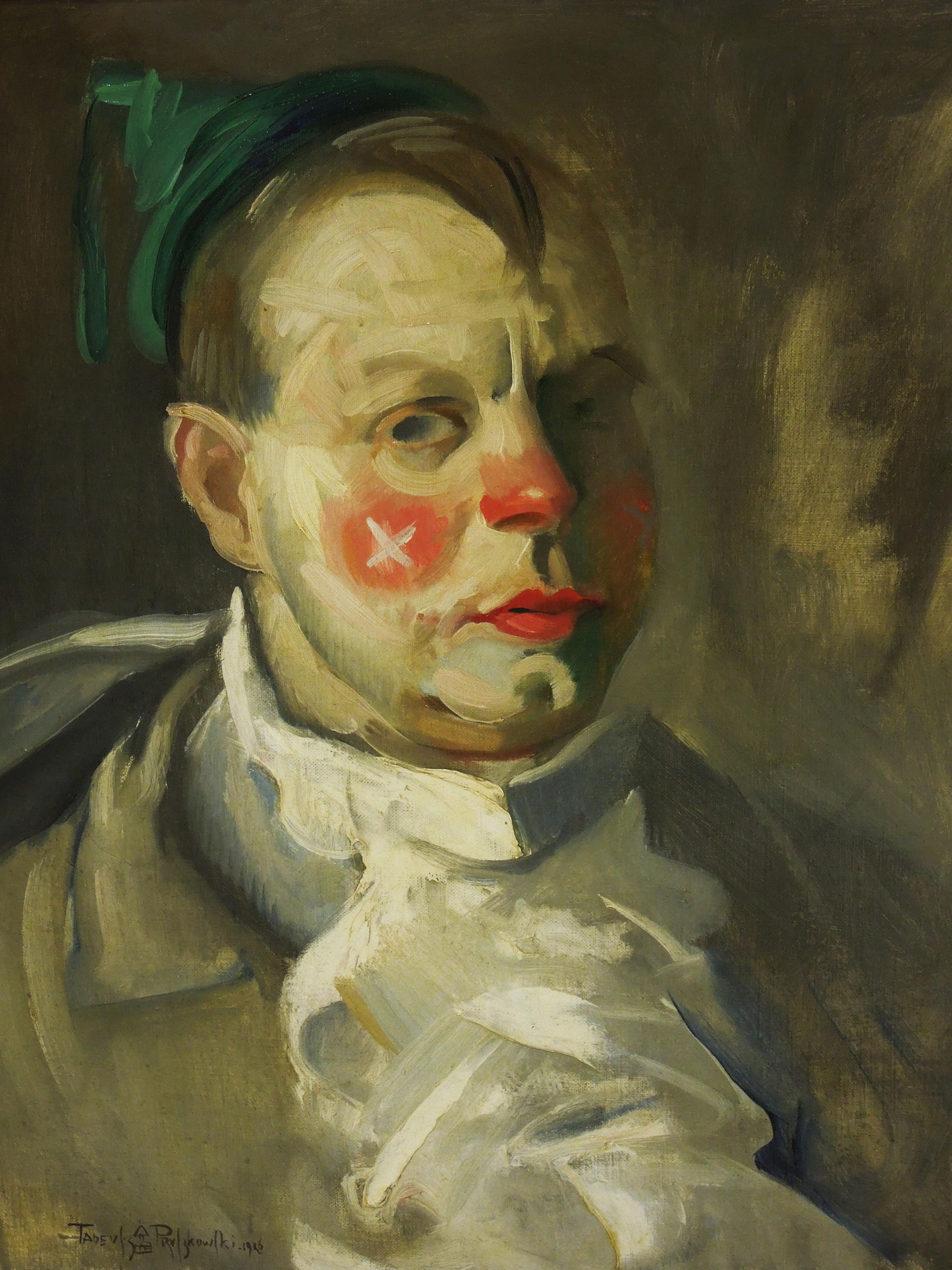 """Tadeusz Pruszkowski (1888-1942) """"Autoportret"""", 1926 rok, źródło: Muzeum Narodowe w Poznaniu"""